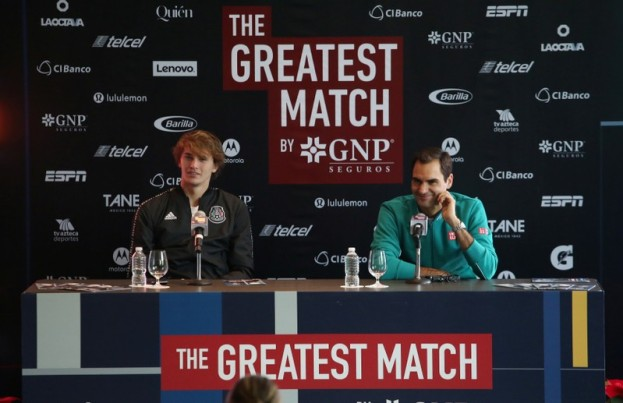 Tennis - Exhibition match - Roger Federer v Alexander Zverev Press Conference